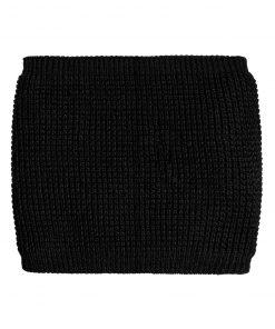 Плетен шал - цвят Черен