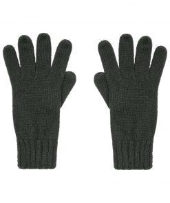 Плетени ръкавици - цвят Черен
