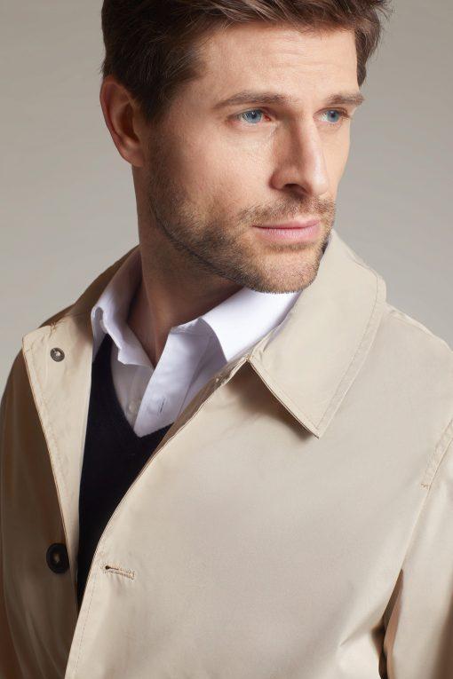 Мъжко лятно късо палто - цвят Черен