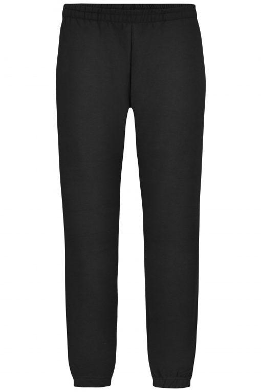 Дамски спортен панталон с джобове - цвят Черен
