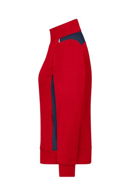 Дамско горнище - цвят Червено/Флота