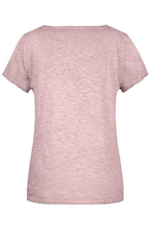 Дамска ежедневна тениска - цвят Розов