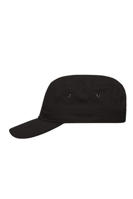 Шапка с козирка тип Военна - цвят Черен