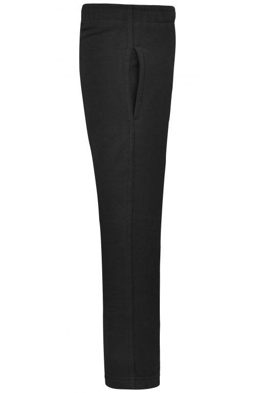 Детски спортен панталон - цвят Черен