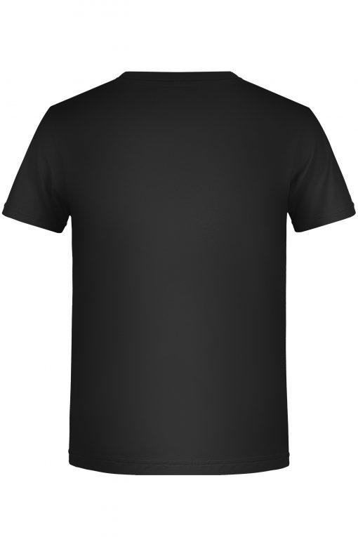 Детска тениска за момче - цвят Черен