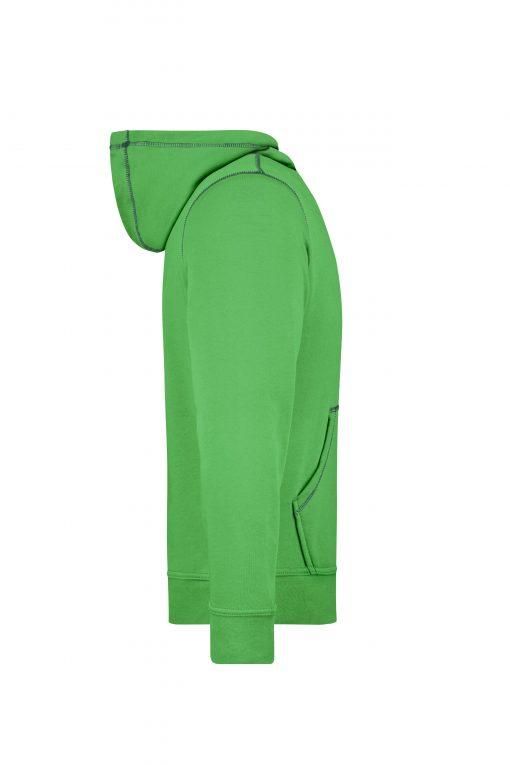 Мъжки суичър Lifestyle - цвят Зелен/Морско Синьо