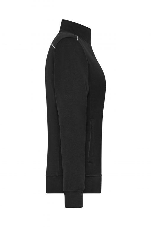 Дамски полар WorkWear - цвят Черен
