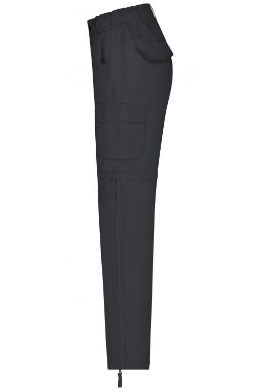 Дамски трекинг панталон - цвят Черен