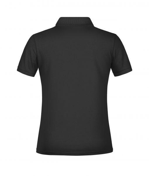Дамска тениска Basic Polo - цвят Черен
