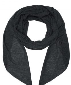 Олекотен шал - цвят Антрацит-Меланж