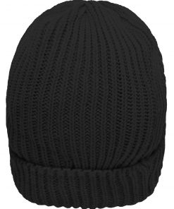 RIPP плетена шапка Thinsulate - цвят Черен