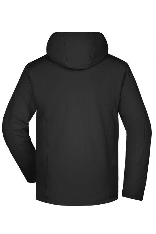 Мъжко спортно зимно яке - цвят Черен