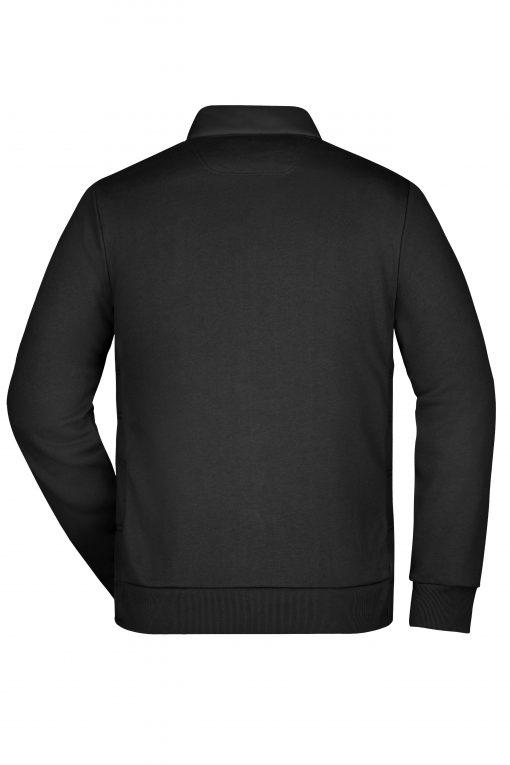 Мъжко хибридно яке - цвят Черен