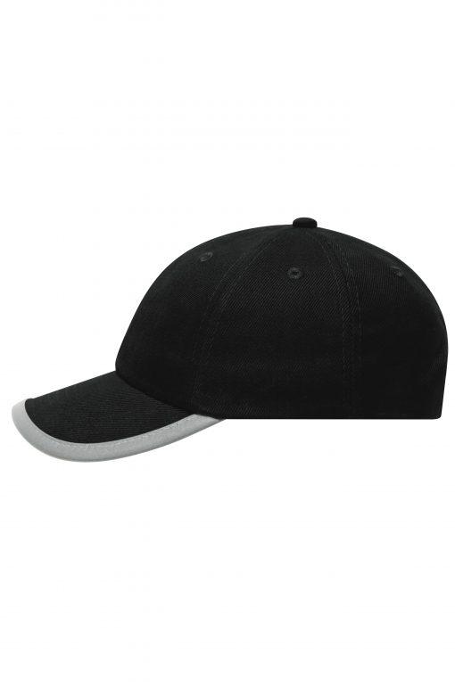 Детска шапка с козирка - цвят Черен