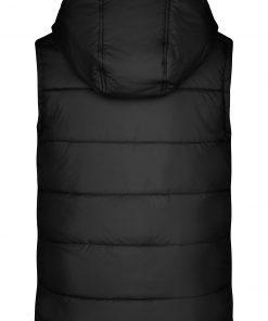 Мъжки елек с подплата - цвят Черен