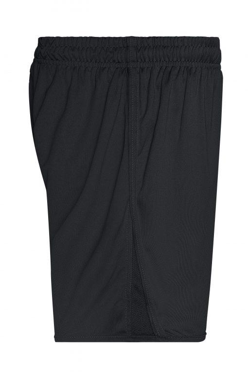 Детски спортни шорти - цвят Черен