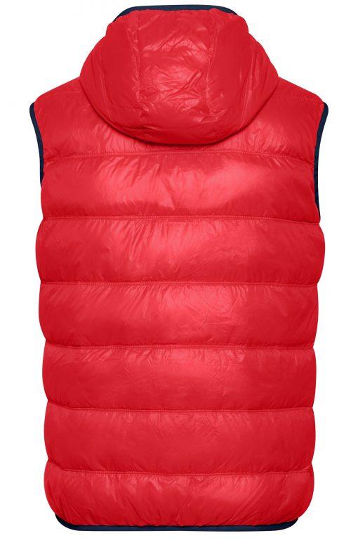 Мъжки летен шушляков елек - цвят Червено/Флота