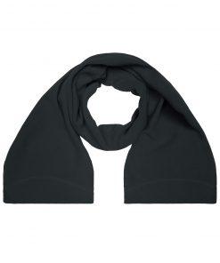 Зимен пларен шал  - цвят Черен