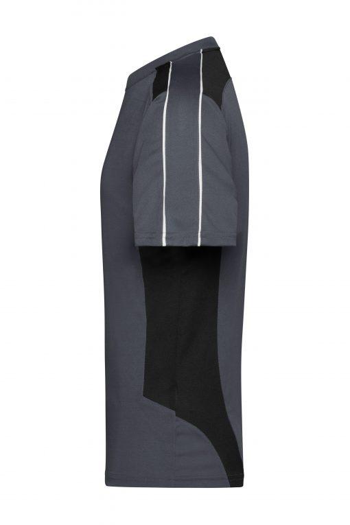 Мъжка тениска - цвят Индиго/Черно
