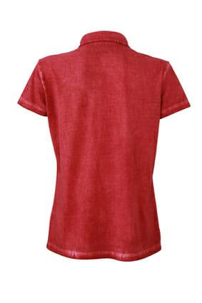 Дамска тениска Spray Polo - цвят Червен