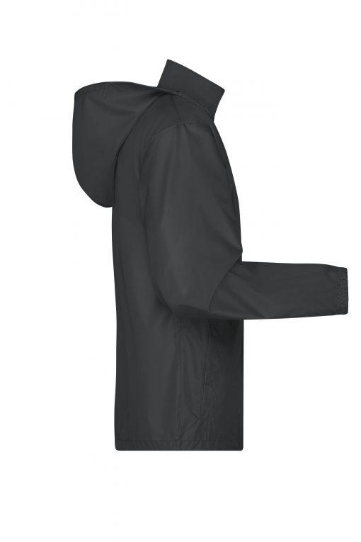 Мъжка ветровка Basic - цвят Черен