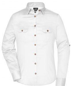 Дамска риза с Easy-Care покритие - цвят Бяло