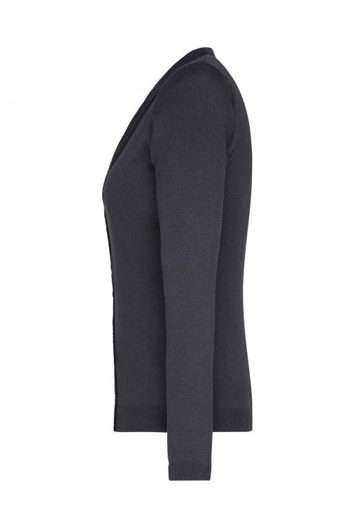 Дамска жилетка - цвят Черен