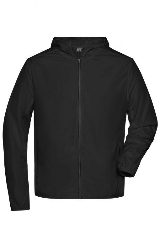Мъжко спортно яке - цвят Черен