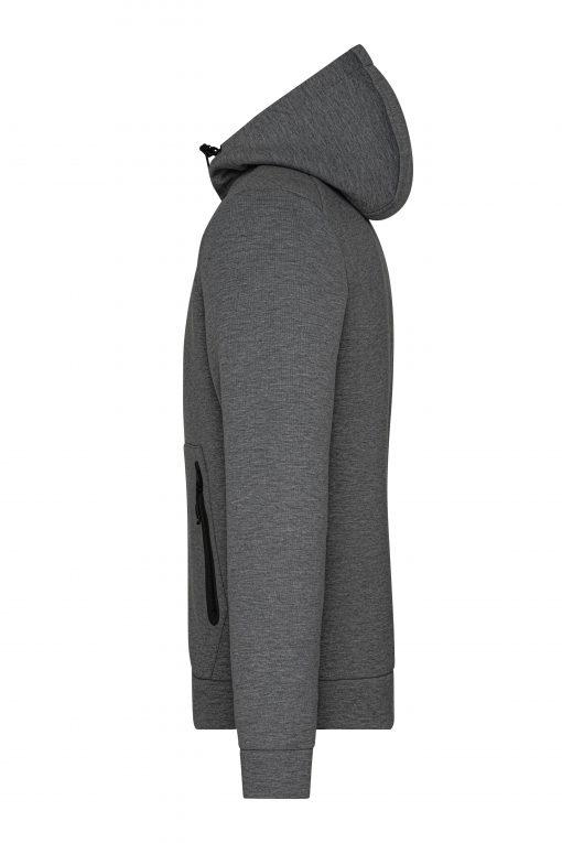 Мъжки суичър - цвят Тъмно-Меланж