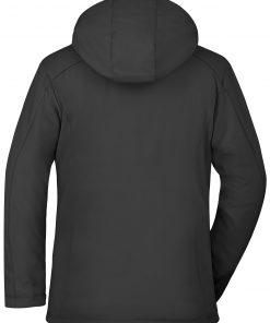 Дамско спортно зимно яке - цвят Черен