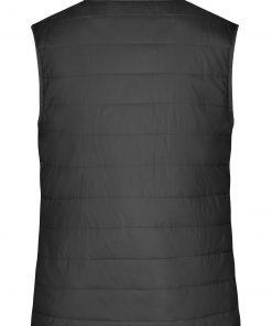 Дамски ватиран елек - цвят Черен