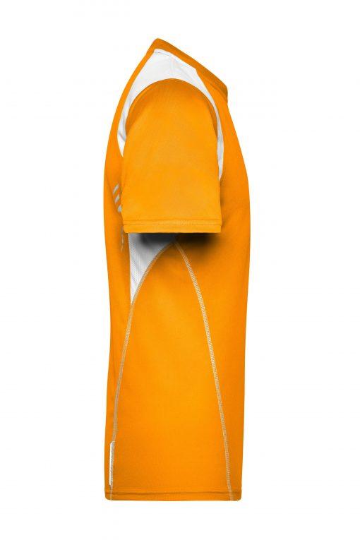 Мъжка спортна тениска Topcool - цвят Оранжево/Бяло