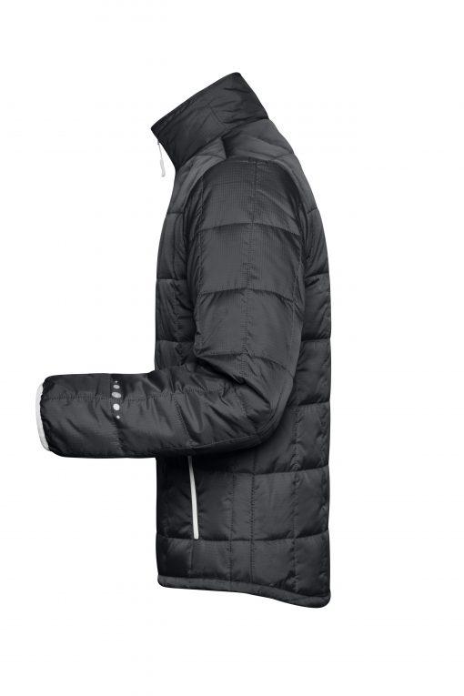 Мъжко шушляково яке Thinsulate - цвят Черно/Сребро