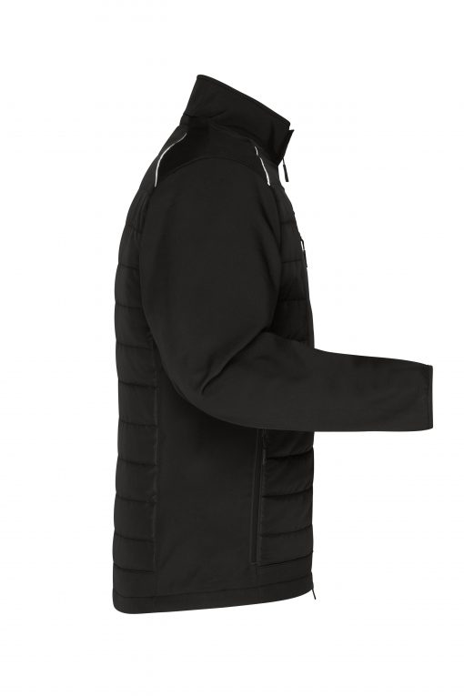 Мъжко софтшел яке - цвят Черно/Черно