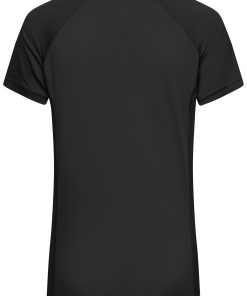 Дамска спортна тениска - цвят Черен