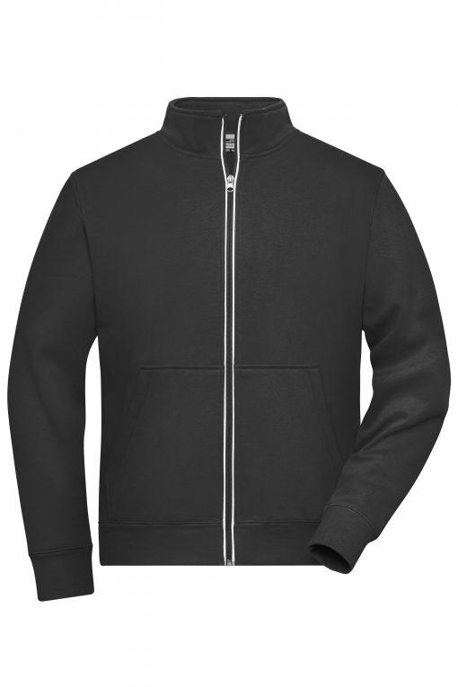 Мъжко двулицево яке - цвят Черен