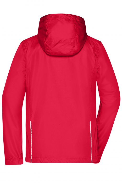 Дамско яке 3 в 1 - цвят Червено/Черно