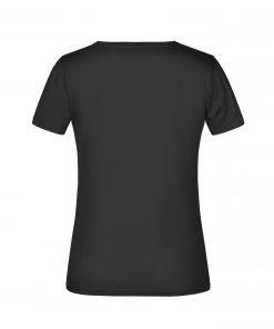 Дамска тениска Basic 180 - цвят Черен