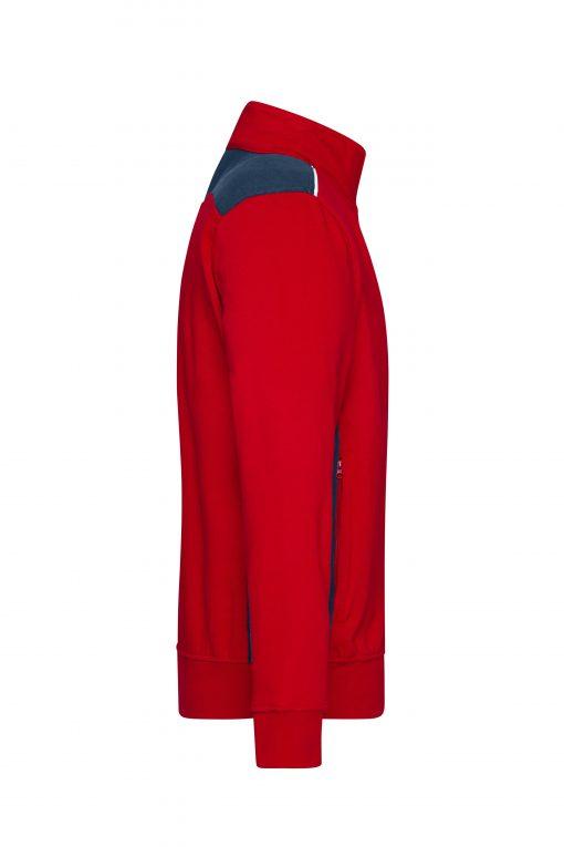 Мъжко горнище - цвят Червено/Флота