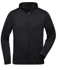 Мъжки спортен суичър - цвят Черен