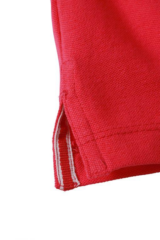 Дамска тениска Elastic Polo - цвят Бял/Морско Син