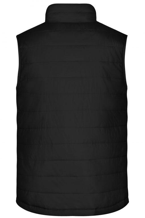 Мъжки ватиран елек - цвят Черен