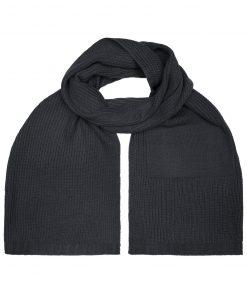 Зимен шал  - цвят Черен