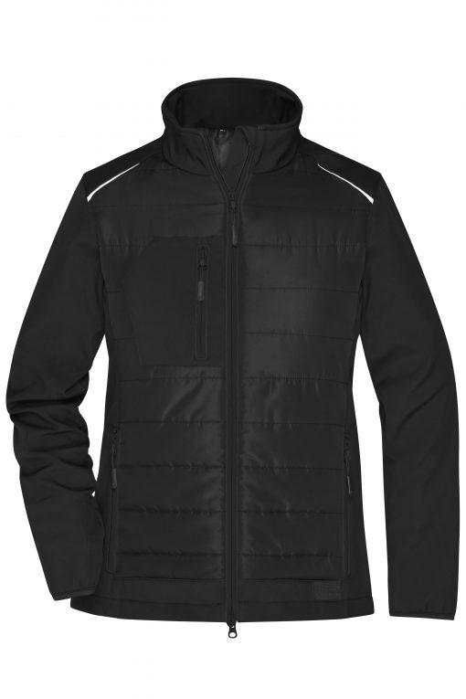 Женско софтшел яке - цвят Черно/Черно