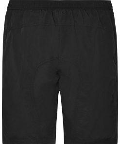 Дамски шорти за колоездене 2 в 1 - цвят Черен