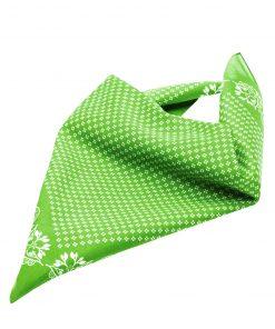 Бандана тип кърпа - цвят Лайм-Зелено