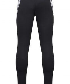 Мъжки спортен клин - цвят Черно/Черно-Отпечатано