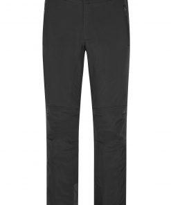 Мъжки софтшел панталон - цвят Черен