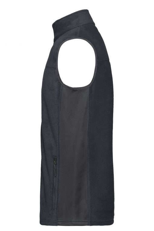 Мъжки поларен елек - цвят Индиго/Черно