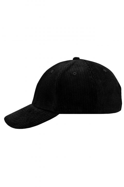 Шапка с козирка  - цвят Черен